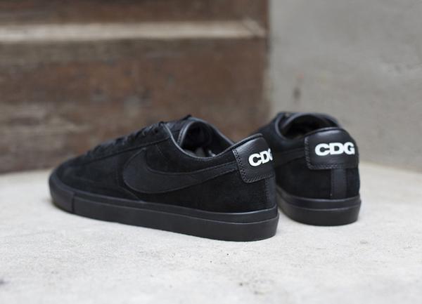BLACK COMME des GARCONS x Nike Blazer Low Premium - Le Site de la