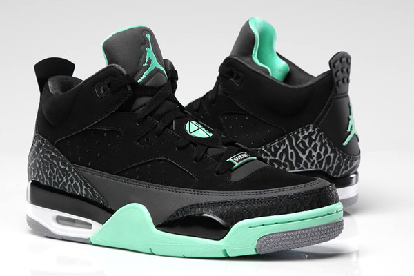 new styles 633ec b0504 ... new style jordan son of mars low green glow d19a8 35a48 australia  markowe air ...