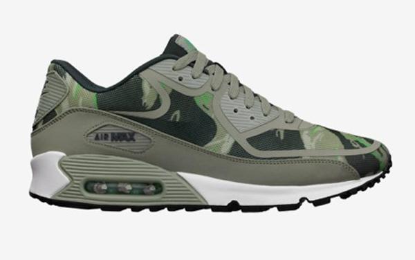 bfee360d6ea Nike Air Max 90 Premium Tape Green Camo - Le Site de la Sneaker