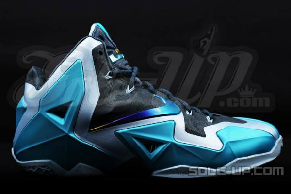 Nike LeBron XI Gamma Blue - Le Site de la Sneaker