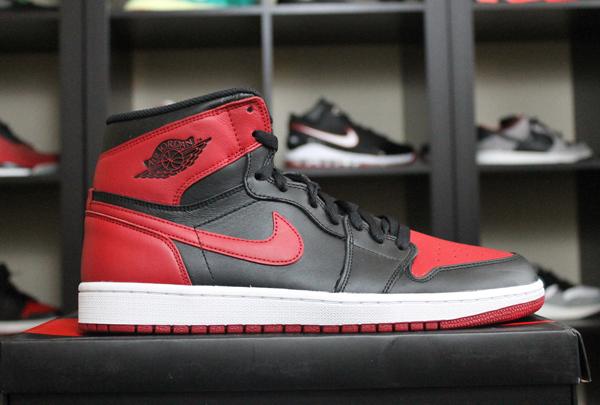 chaussures de séparation 80e3c b0ef3 Air Jordan 1 Bred 2013 - Le Site de la Sneaker