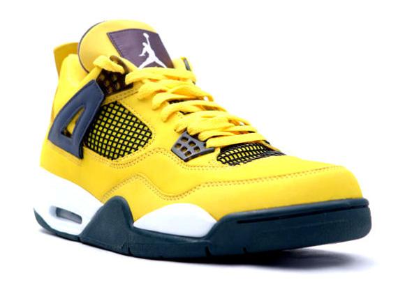 air jordan 4 jaune