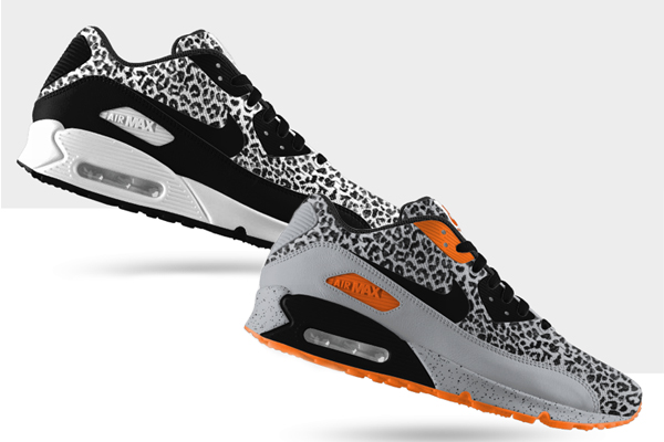 NIKEiD Air Max 90 EM Option Cheetah Le Site de la Sneaker