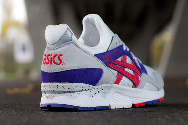 asics gel lyte v fiery red le site de la sneaker. Black Bedroom Furniture Sets. Home Design Ideas