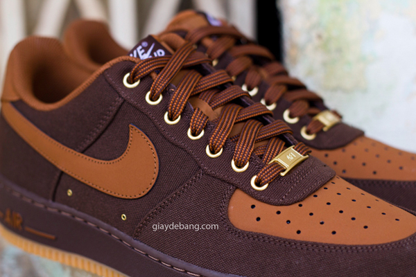nike air force 1 low marron