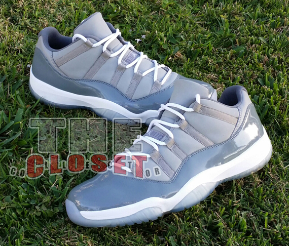 ... low price air jordan 11 retro low cool grey michael jordan pe 8c84a  47f24 b50b9160b