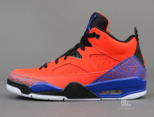 Nike Air Jordan Fils De Mars Bas Knicks