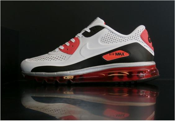 d97077e1f3 ... Nike Air Max 90 2014 Leather QS Infrared ...