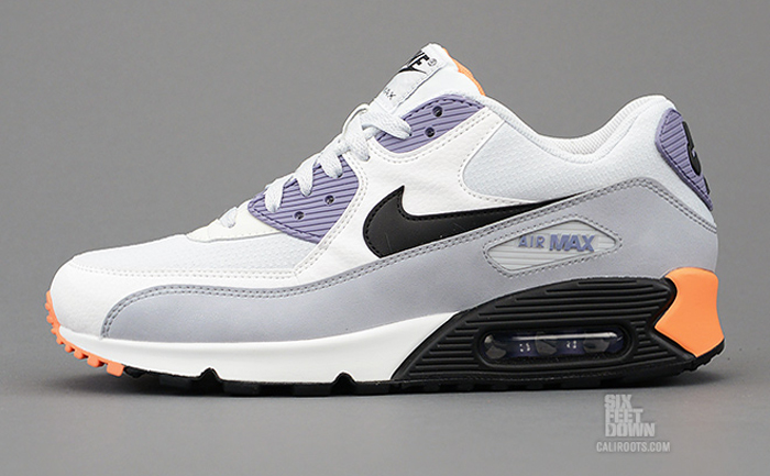 fe351441a2 Nike Air Max 90 Essential Light Base Grey Orange - Le Site de la Sneaker