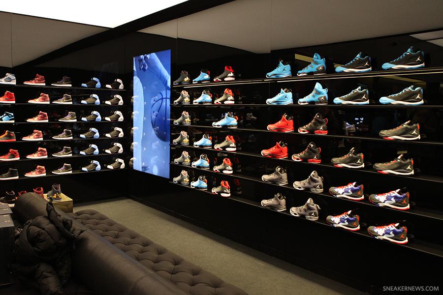 Ouverture De Flight 23 Le Premier Jordan Store Le Site