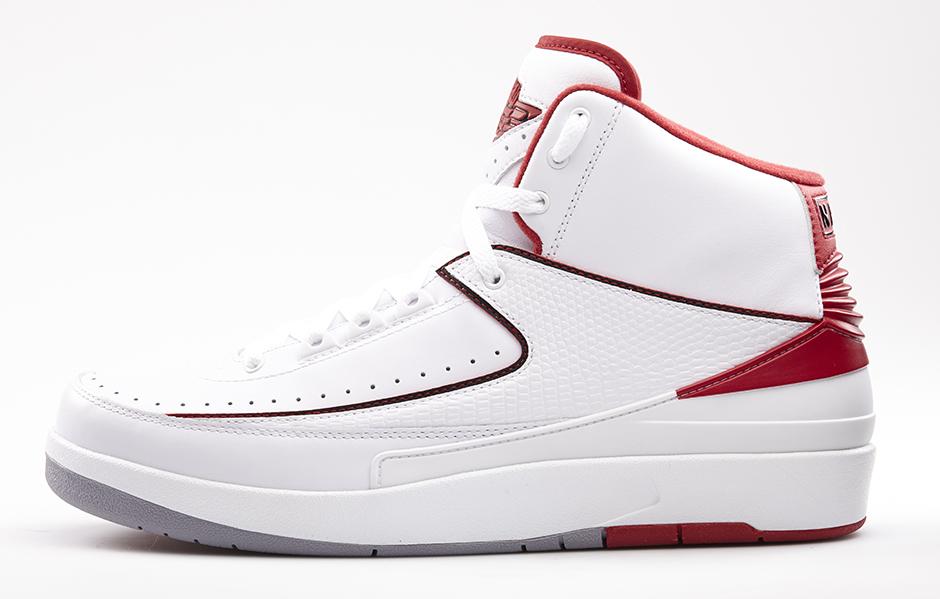 pretty nice 1b46d f6364 Air Jordan 2 White Red