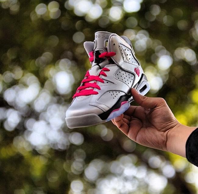 sale retailer 544de 12809 Air Jordan 6 GS Valentine's Day - Le Site de la Sneaker