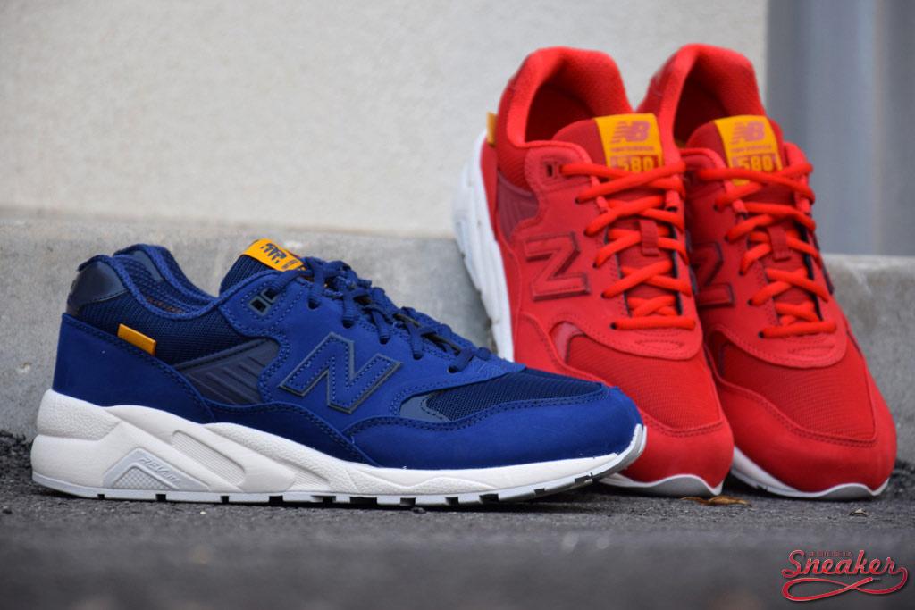 new balance 580 bleu et rouge