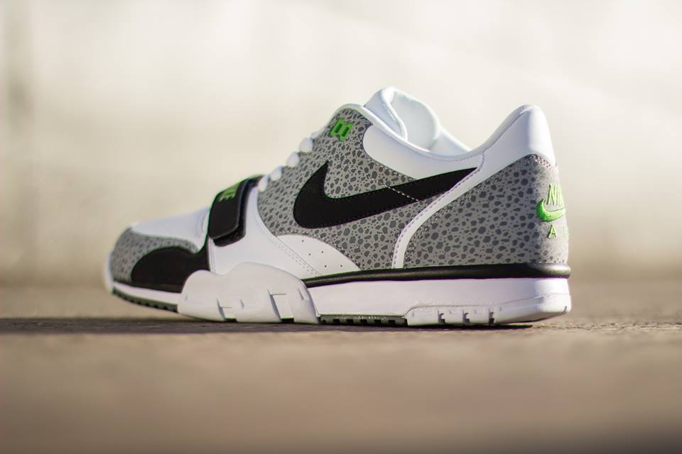 cheaper 9fdc8 c7691 Nike Air Trainer 1 Low Safari Chlorophyll - Le Site de la Sneaker