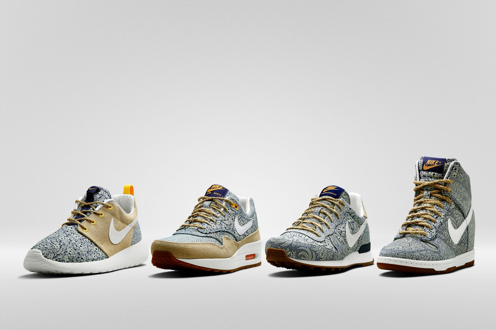 big sale 612bf d17fe Liberty of London x Nike Collection Printemps 2014