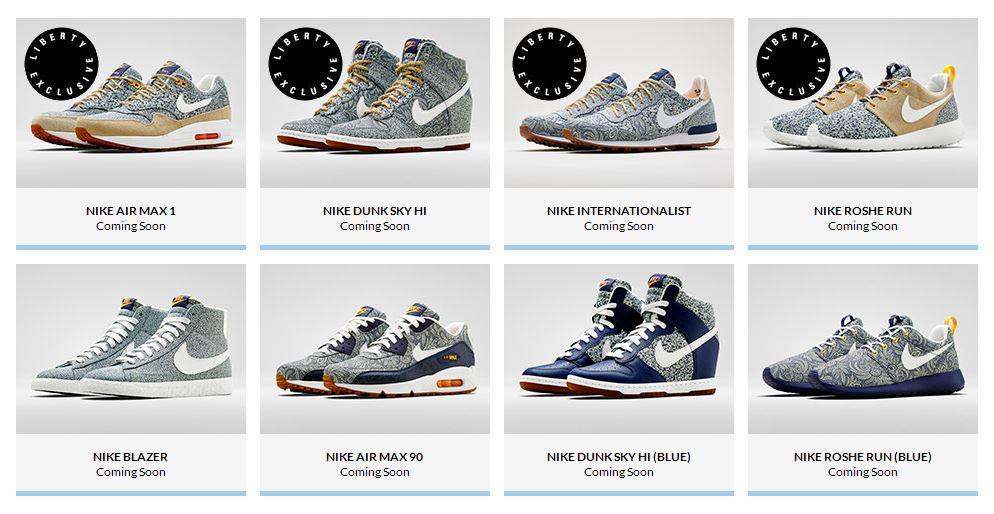 Nike Air Max 90 Liberty Of London Blue Mrkingjd | Looks