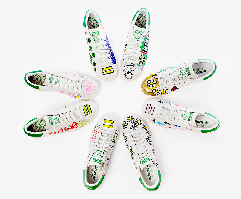 adidas stan smith dessin