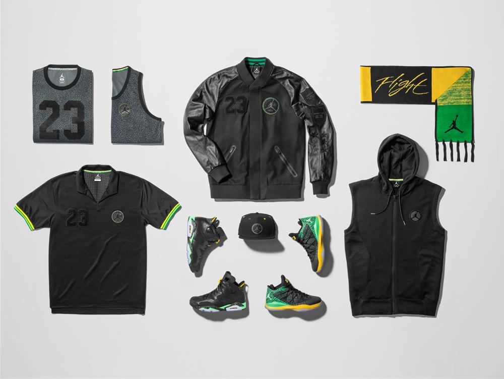 Nouvelle Ligne De Vêtements Air Jordan