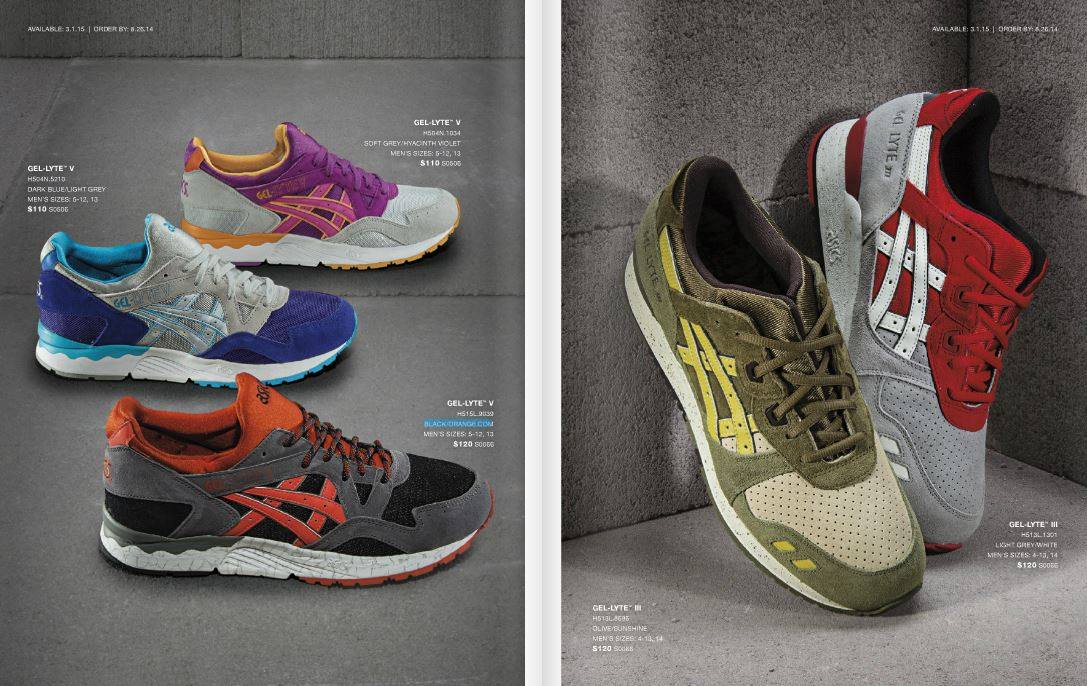 ... asics gel lyte 2014 Asics Preview ... c62e468cb8