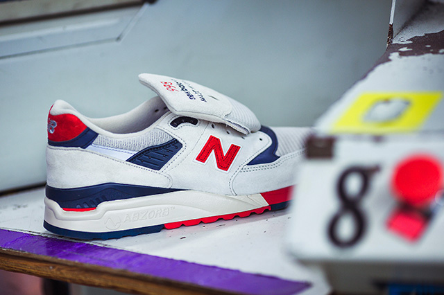J.Crew x New Balance 998 Made In USA 'Independence Day' - Le Site de ...