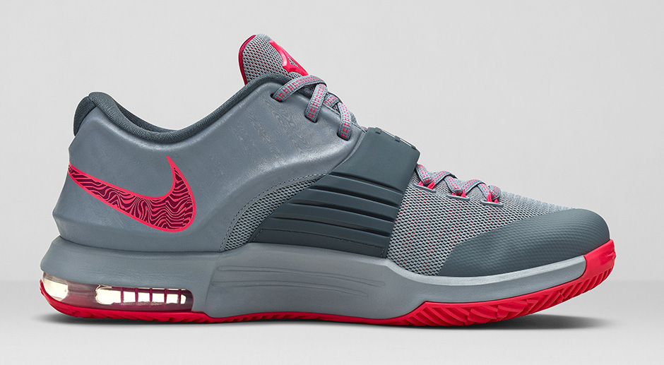 nike kd 7 grise