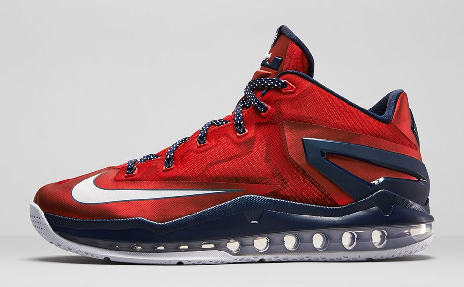 Nike LeBron 11 Low Independence Day - Le Site de la Sneaker