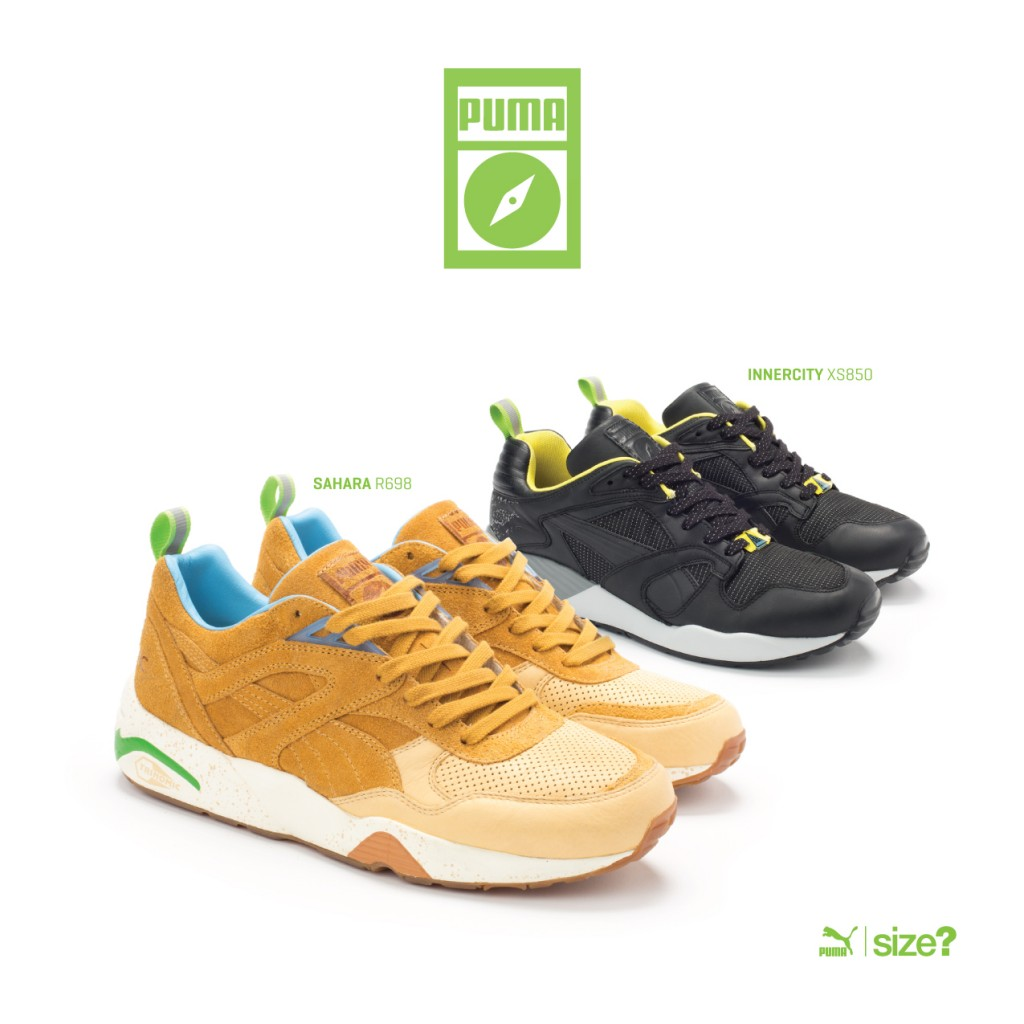 nouveau concept 043a2 cff58 PUMA x size? Wilderness Pack - Le Site de la Sneaker