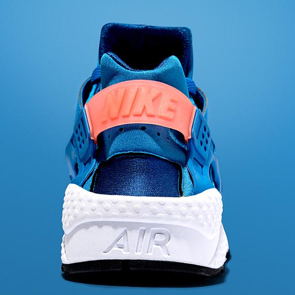 detailed look 3a035 97a57 nike-air-huarache-gym-blue-bright-mango-3