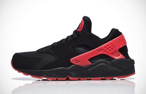 huge selection of d1f29 a087e nike-air-huarache-qs-black-red-love-hate-