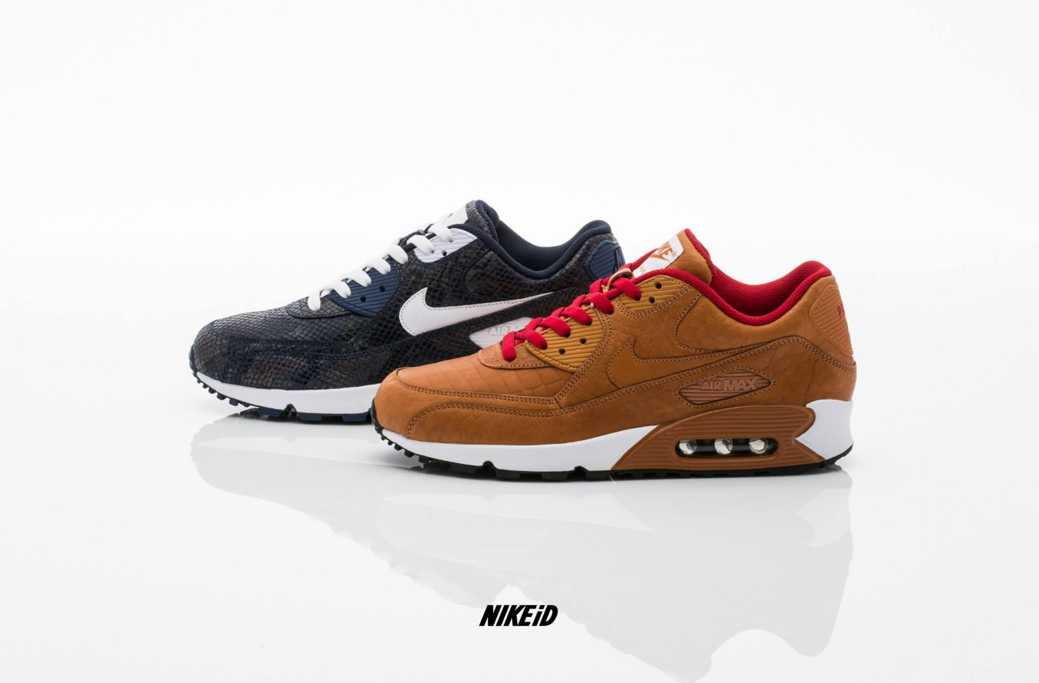 Nike Air Max 90 Premium iD - Options Snake & Croc