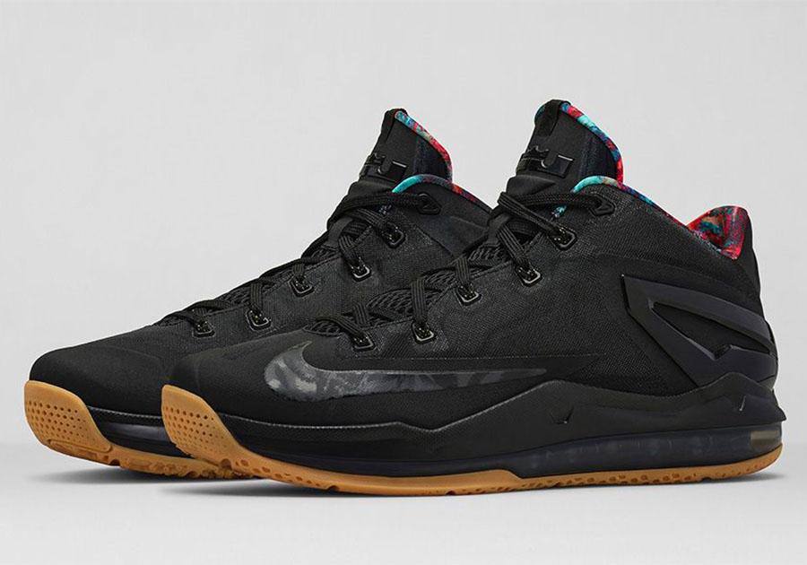 nike lebron 11 low black gum le site de la sneaker