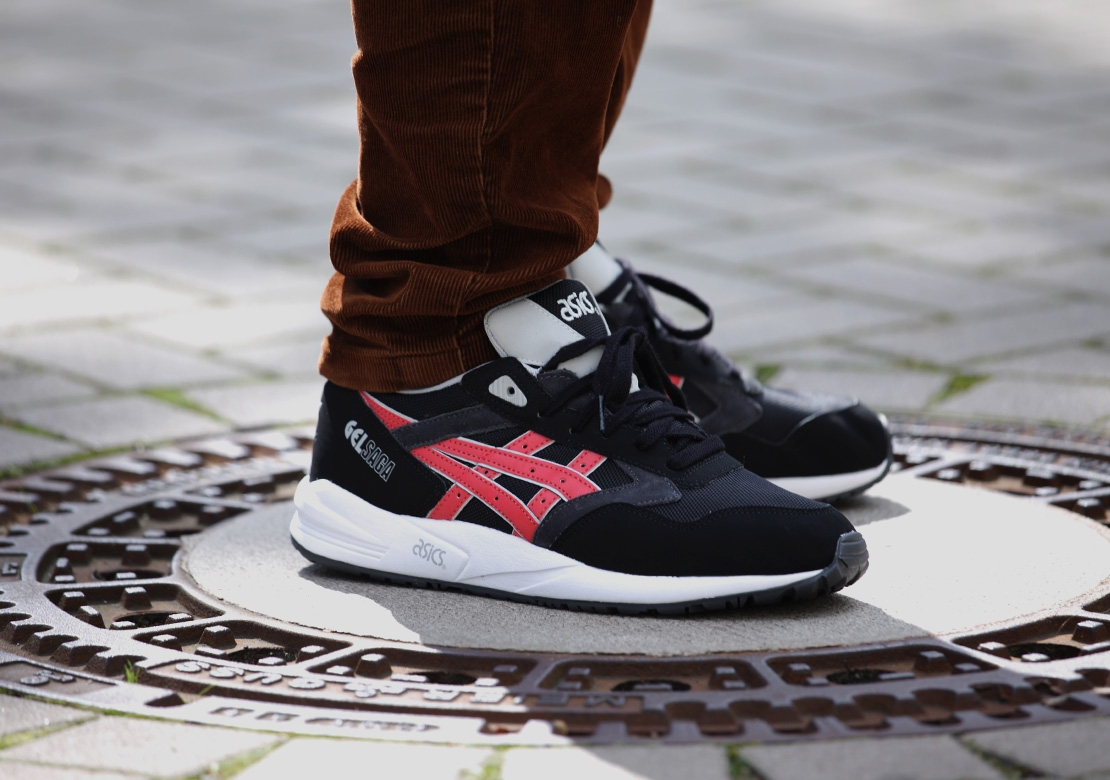 asics gel saga rouge