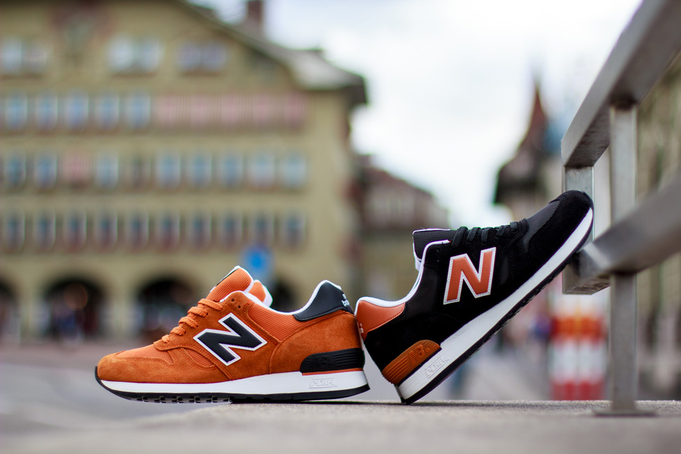 purchase cheap ce01c cc643 New Balance 670 Orange Pack Made in England - Le Site de la ...