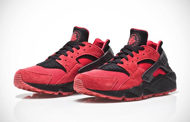 Nike Air Huarache QS University Red Black