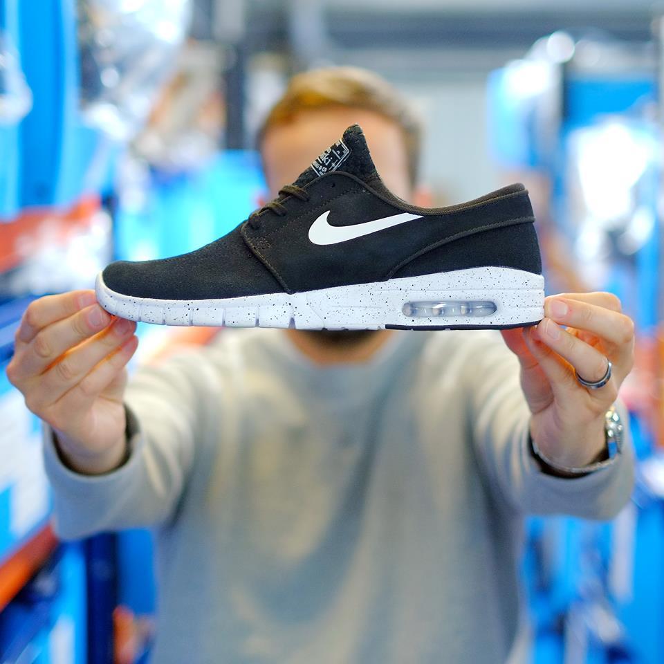 cheap price authorized site san francisco Nike SB Stefan Janoski Max Black Suede