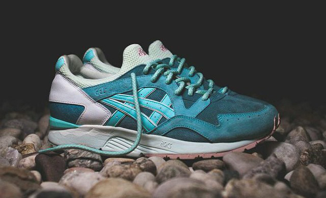 on sale 0c711 6f5be Ronnie Fieg x Asics Gel Lyte V Sage