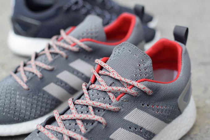87cc8d401 adidas Consortium Pure Boost Primeknit Grey   Black - Le Site de la ...