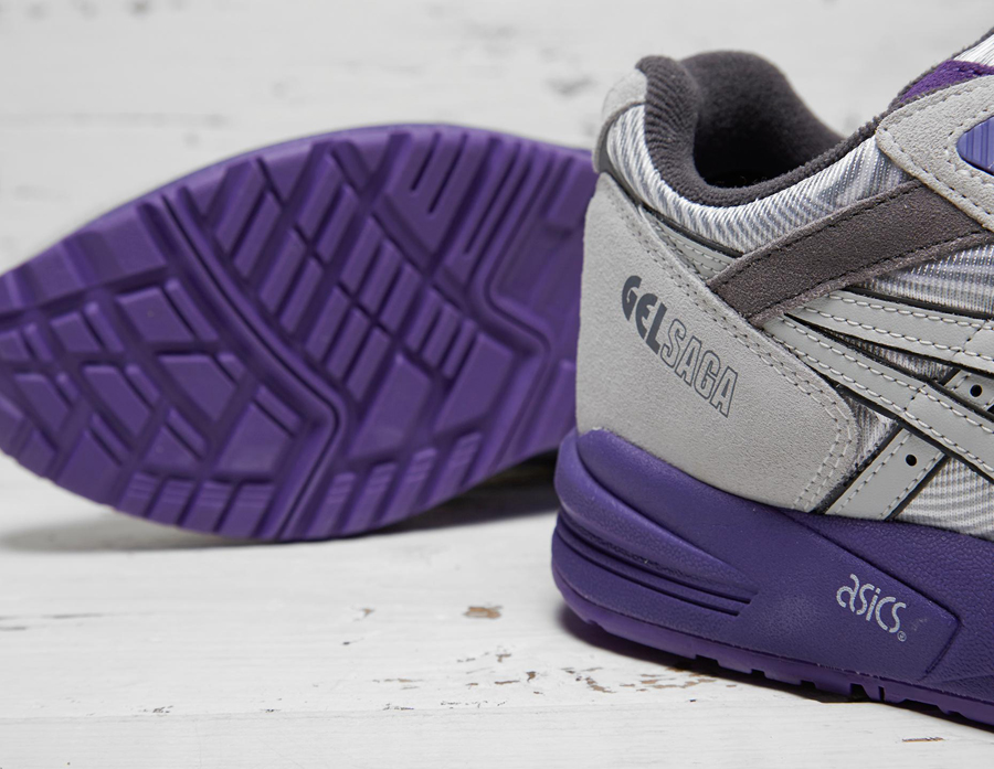 design intemporel 4f3f9 f4d3a Asics Gel Saga Grey Purple