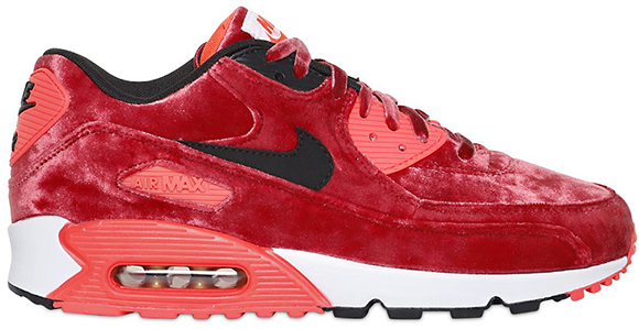 site réputé 4df10 4b8c8 Nike Air Max 90 Red Velvet - Preview - Le Site de la Sneaker