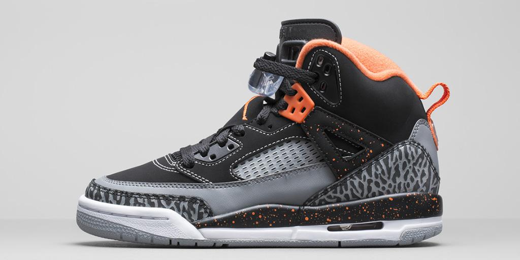 the latest 1e04e e9032 ... Black Electric Orange Photos. air-jordan-spizike-gs-halloween