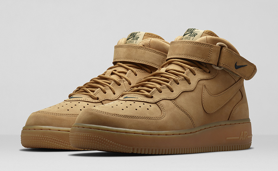 Mid Force Nike Air Wheat 1 n0PkNZ8wOX