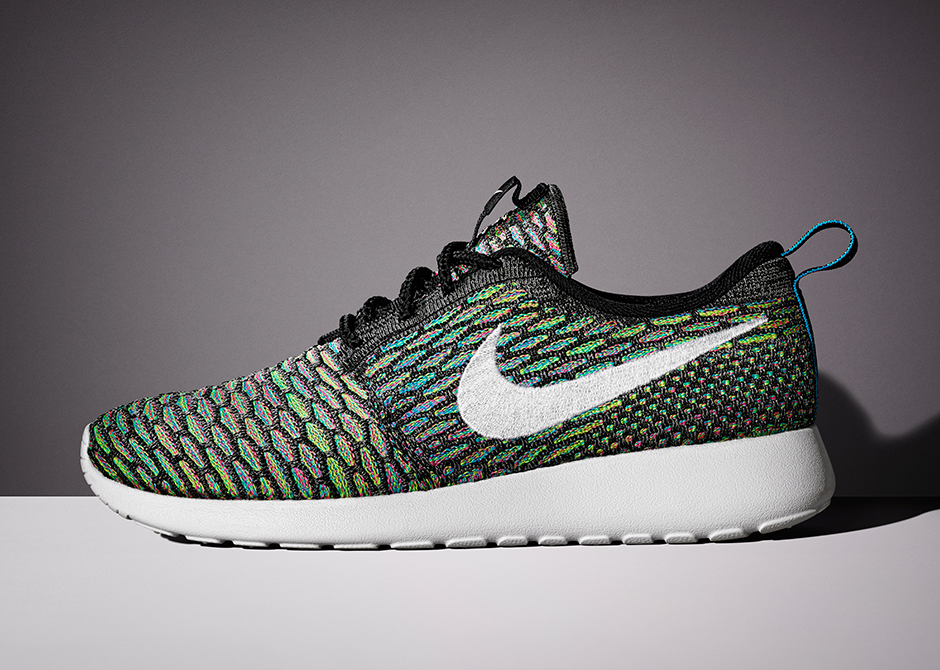 Nike WMNS Flyknit Roshe Run Multicolor