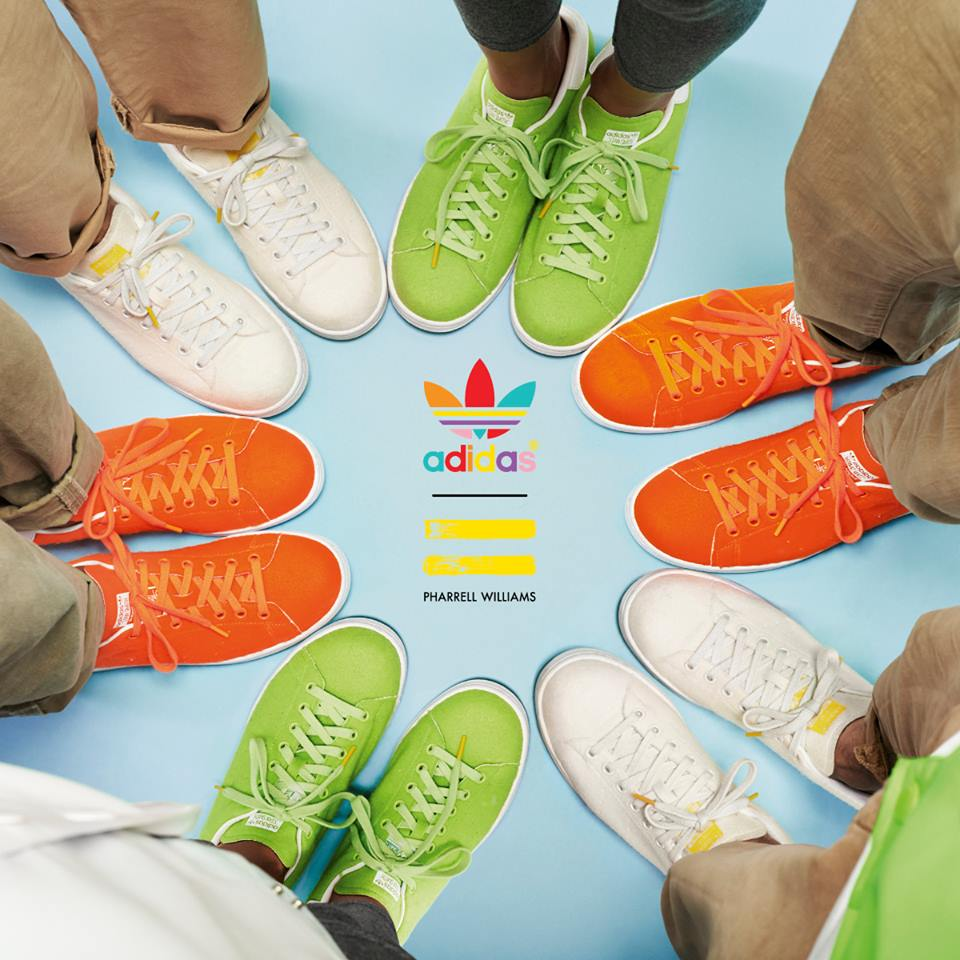 Pharrell Williams x adidas Stan Smith Tennis Pack Le Site