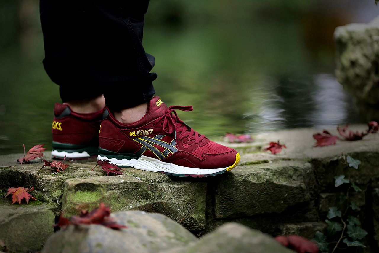 the good will out x asics gel lyte v koyo