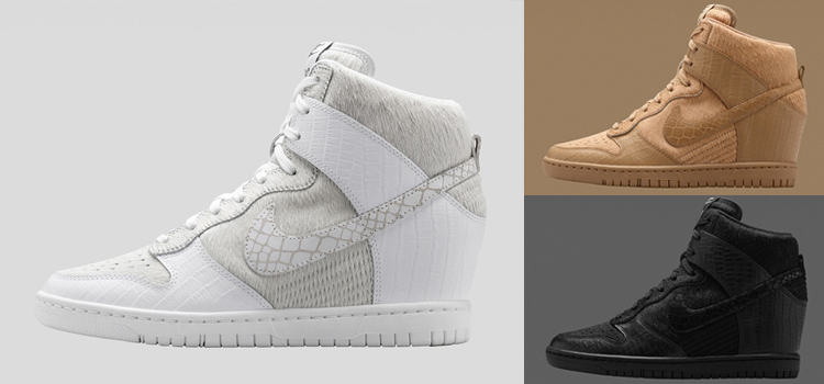 detailed look 5751a e551b Undercover x Nike Dunk Sky Hi Collection