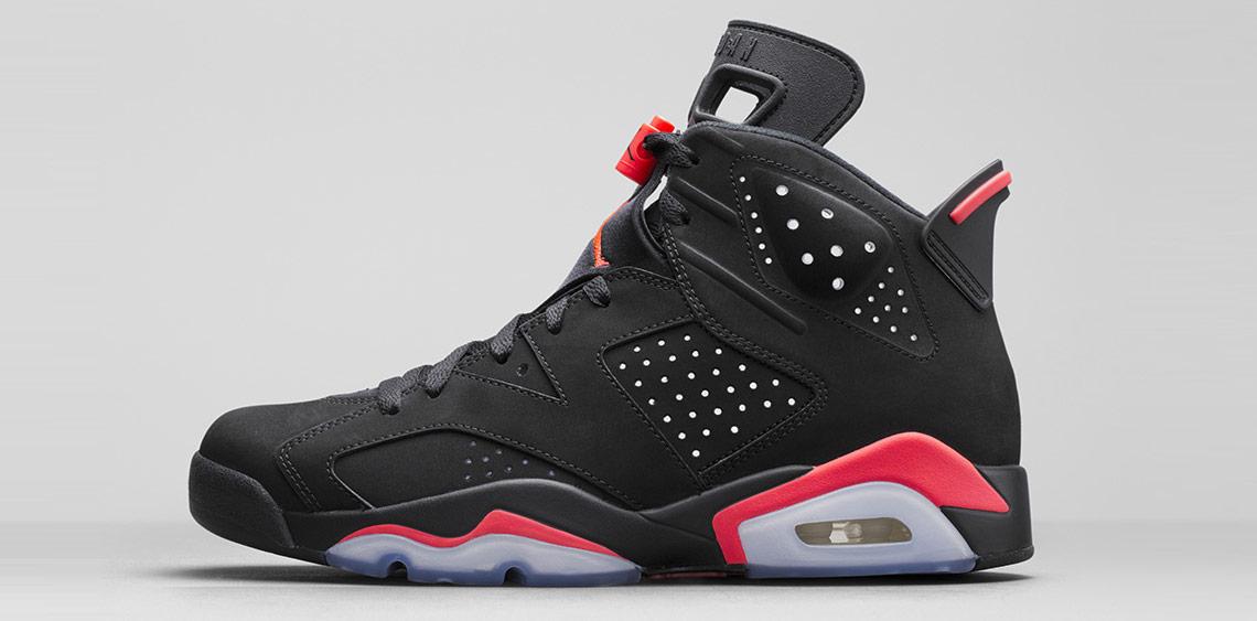 chaussures de sport a4d1b dfc85 Où acheter les Air Jordan 6 Black Infrared 23? - Le Site de ...