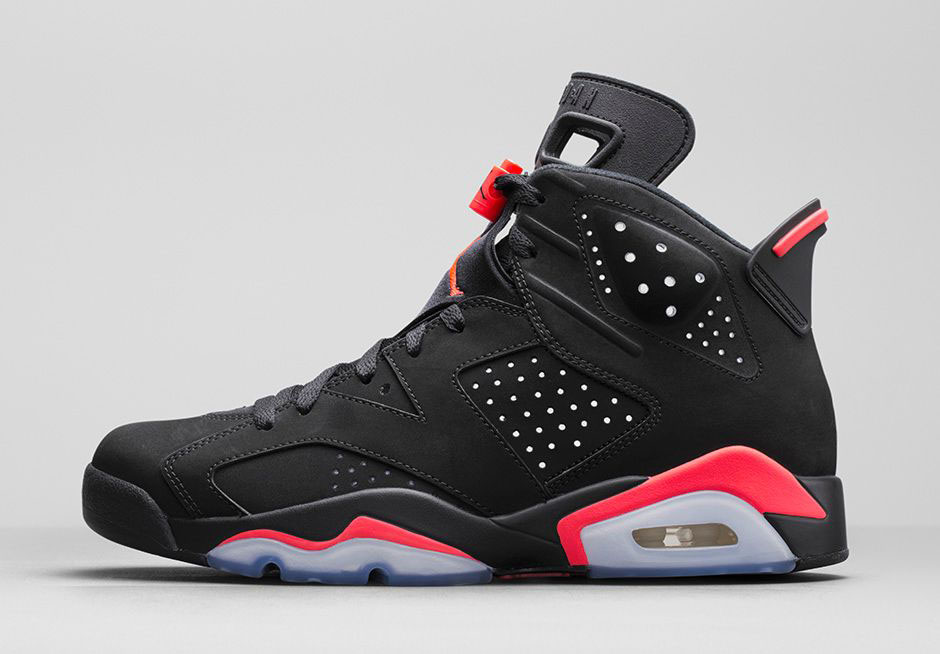air jordan 6 black infrared le site de la sneaker. Black Bedroom Furniture Sets. Home Design Ideas