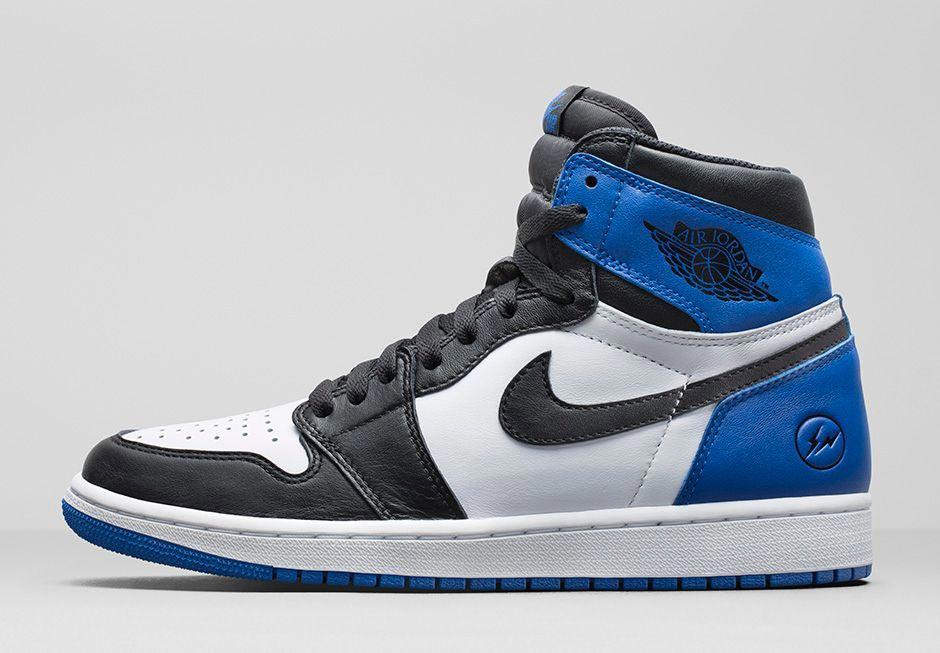Air Jordan Jordan 1 X Fragment - Bleu vHnyEdY
