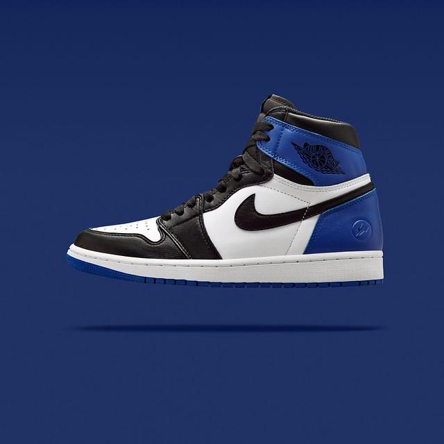 Air Jordan Jordan 1 X Fragment - Bleu HQns5bI