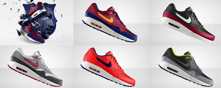Nike Air Max 1 ID FC Barcelona   WAVE®